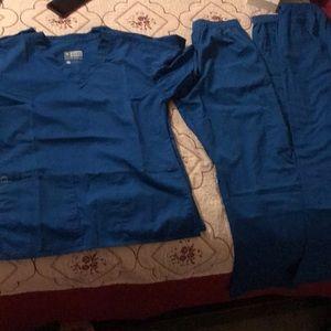 Wonder wink blue scrubs xs